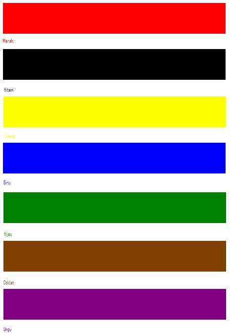 warna dibalik tanggal lahir anda maula